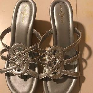 Cole Haan solver sandals.